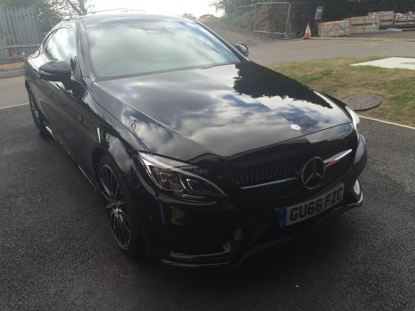 New Mercedes Benz C300 Correction & Protection